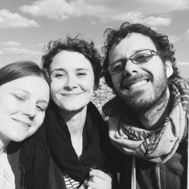 Bea, Claudia and Nicola